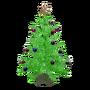 Atx camp floordecor aluminumxmastree green ornaments l.webp