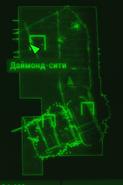 FO4 Основная база карта