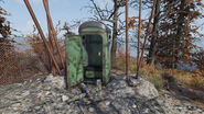 FO76 Central Mountain lookout (mysterious button)