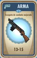 FOS Escopeta de combate mejorada carta