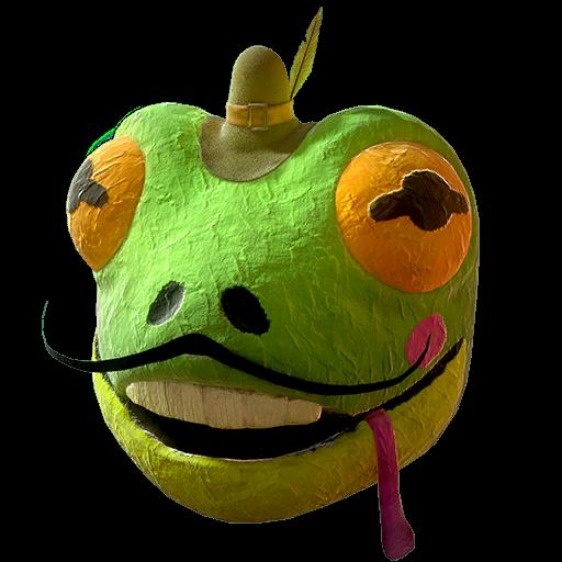 Fasnacht frog mask