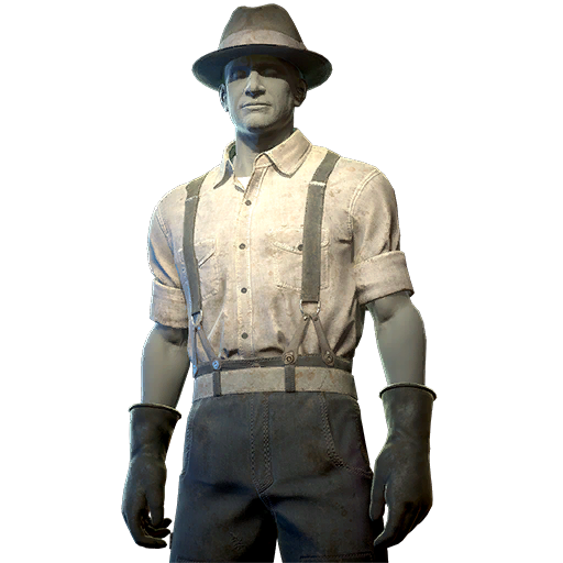 Settler work chief outfit