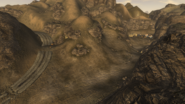 FNV Tribal village and Chance's Grave