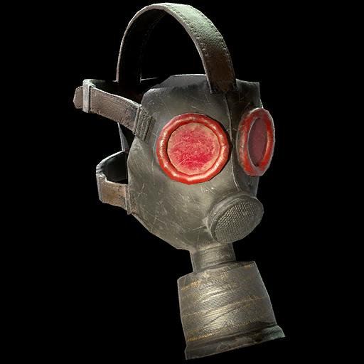 Mothman gas mask
