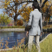 FO76 Twitch Clean Striped Suit Back