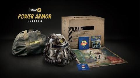 Fallout 76 – E3 2018 Tráiler de la Edición Servoarmadura (Power Armor Edition)