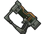 Rusty laser pistol
