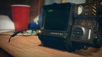 PipBoy 2000 Desk