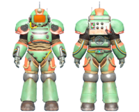 CC-00 power armor Hot Rod shark paint