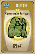 FoS Commander Fatigues Card