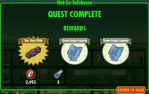 FoS Not-So-Safehouse - rewards