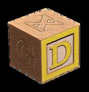 Wooden block D