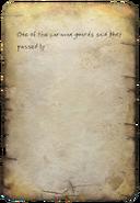 Scavenger's note Treasure Hunt