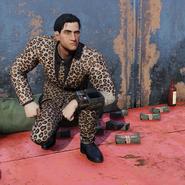 Atx apparel outfit pantsuit jaguar c2