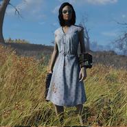 Atx apparel outfit prewarhousedress blue clean c1