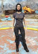Blue Nuka-Cola t-shirt female