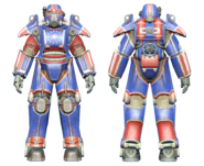FO4CC T-45 power armor patriotic