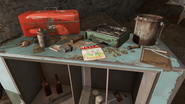 FO4 Tesla Science Magazine in Rocky Cave