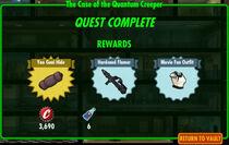 FoS The Case of the Quantum Creeper rewards