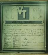 Vault 76 Overseer's diploma