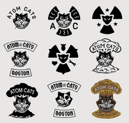 Art of Fallout 4 (Atom Cats logos)