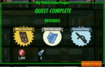 My Weird Science Projects reward
