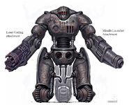 Sentry bot CA1