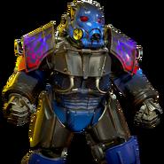 Atx f1 skin powerarmor paint hellfire bluedemon l