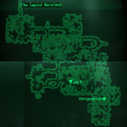 Deathclaw Sanctuary loc map
