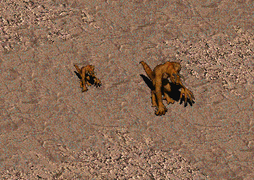 FO1 Deathclaw in Fallout1-2.png