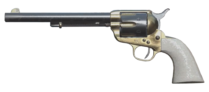 Fancy single action revolver