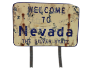 FNV State sign Nevada