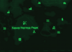 FO4FH map Northwood Ridge Quarry.png