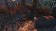 FO4 Fiddlers Green Trailer Estates bunker entrance