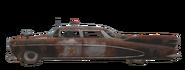 FO76 Cop Car Side