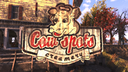 FO76 Cow Spots Creamery sign