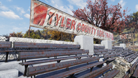 FO76 Tyler County Dirt Track sign 915 5