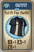 FoS Sci-Fi Fan Outfit Card