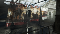 FO4 Museum of Freedom flags