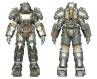 FO4 T-60 power armor BOS knight captain