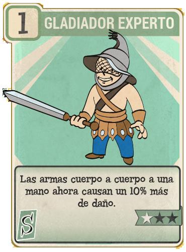 Gladiador experto