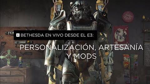 Fallout 4 –Personalización, artesanía y mods