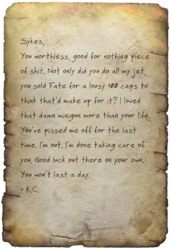 Sykes' old letter.png