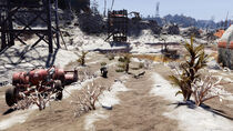FO76WL The Crater (crop fields)