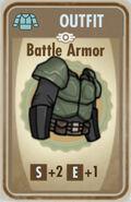 FoS Battle Armor Card