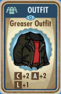 FoS Greaser Outfit Card