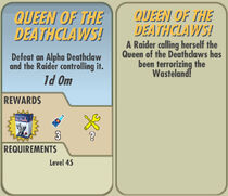FoS Queen of the Deathclaws! card