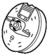 Icon nvdlc02items mod .45 machinegun ammo drum.png