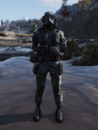 Brotherhood Special Ops Suit with Mask Front