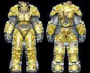 FO4CC X-01 power armor swamp camo